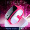Grande Discount Wholesale LED Touch Mirror Watch, Rubber variopinto Jelly Watch per Men Girl Child (DC-057)