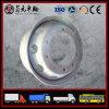Fabricante 6X4 da fábrica do OEM de FAW Cnhtc, caminhão de descarga 6X2 resistente, borda de pouco peso 9.00X22.5 11mm Zhenyuan da roda