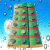 丸薬ボタンのタイプAG13 Lr1154のアルカリ電池