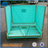 Galvanised Stacking Wire Preforms Folding Warehouse Cage