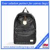 Кожаный рюкзак с ярким заклепку (ЖДШК-015)