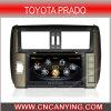 Автомобиль DVD для Тойота Prado с интернетом Dual Core 1080P V-20 Disc WiFi 3G набора микросхем A8 (CY-C065)