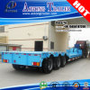 50t Hydraulic Gooseneck Detachable Low Boy Trailer Truck