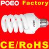 Mais barato em espiral completo CFL lâmpada economizadora de energia