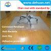Natte Phtalate-Libre de chaise de PVC 36 x 48 pour de bas tapis de pile