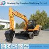 2017 Clouded Hydraulic New Wheel Excavator Price with %8 Discount