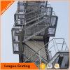Grating perfurado do aço dos passos de escada do metal