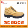 Do trabalhador de aço resistente químico do dedo do pé de Poland sapatas de segurança