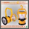 15 SMD LED Solarlicht für das Kampieren mit Taschenlampe 1W (SH-1972C)
