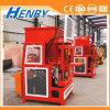 Hr2-10 automatischer hydraulischer Lego hohler Schmutz-blockierenblock, der Maschinen-Lehm-Ziegeleimaschine-Preis bildet