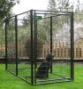 Im Freien pulverisierenbeschichtete Schweißungs-Maschendraht-Hundehundehütte/Hunderahmen/Hundehaus