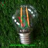 Bulbo pequeno do diodo emissor de luz de E27 G40 G45 Coclorful para a decoração do feriado