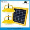 LED solare portatile che illumina sistema domestico con il caricatore PS-K017 del telefono mobile
