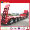 3개의 차축 낮은 로더 트레일러를 수송하는 기계 80 톤