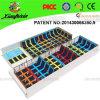 Trampoline profissional interno personalizado fornecido a instalação (14-4025-2C)
