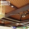 Los paneles de techo de madera integrados del material impermeable para la decoración del hotel