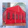 Bâche de protection provisoire ignifuge de PE de tentes de couverture en plastique imperméable à l'eau de toiture
