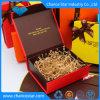 Pack plat personnalisé fermeture magnétique pliable boîte cadeau en carton de papier
