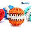 Bola del Bola-Alimento del animal doméstico del juguete de la limpieza del diente del animal doméstico para los perros