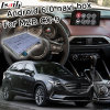 La casella di percorso di GPS del Android 6.0 per Mazda Cx-9 Mzd connette il video controllo Waze del perno dell'interfaccia