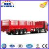 Gooseneck van China Op zwaar werk berekende Vrachtwagen 3 de Staak van de As/de Semi Aanhangwagen van de Tractor van de Vrachtwagen van de Lading van het Nut van de Mand