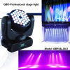 Diodo emissor de luz Moving Head Light do RGB 36*3W