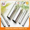 AISI 201 ha spazzolato il tubo saldato Polished dell'acciaio inossidabile per la decorazione