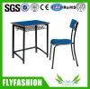 Escuela Moderna Mobiliario solo escritorio con silla (SF-77S)
