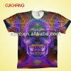 T-shirt d'hommes de vente en gros de coton d'impression de sublimation