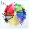 Logo personnalisé Divers Taille Organza Drawstring Bijoux Sacs Unisexe Transparent Accessoires et Sac de Fils Cadeaux