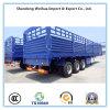 반 말뚝 측벽 평상형 트레일러 공용품 트럭 트레일러