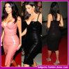 2015 Kim Kardashian sobre o Novo Design vestidos de celebridades/vestido de bandagem