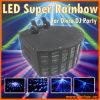 Des RGB-LED Supereffekt-Licht regenbogen-Schmetterlings-DMX für DJ-Disco-Parteipub-Stadiums-Effekt (NE-002B)