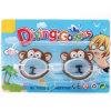 Le plastique badine le jouet animal d'été de lunettes de natation de plongée de dessin animé