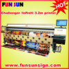 Infinity / Challenger Large Solvent Printer (6 couleurs d'impression, seiko head, best-seller)