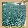 La polvere del PVC ha ricoperto il singolo recinto d'acciaio curvo saldato (DEK-WFP)