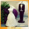 Bougie de cadeaux de mariage de mariée et de marié