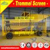 Anilha de ouro de Grande Capacidade Depurador do Tambor Placer Gold Trommel planta de lavagem do filtro rotativo