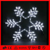 백색 Holiday Outdoor Decorative 제 2 Motif LED Snowflkae Light