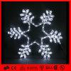 Свет мотива СИД Snowflkae белого праздника напольный декоративный 2D