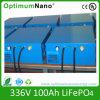 336V 100ah LiFePO4/Lithium Battery met BMS