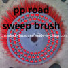 PP y cepillo de acero de la mezcla para el barrendero de camino (YY-319)