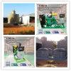중국 공급자 미끄럼에 의하여 거치되는 생물 가스 발전기 400 Kw
