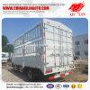 De witte Vrachtwagen van de Doos van de Staak van de Kleur 4*2 voor Vervoer van het Vee