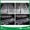 Segno di pubblicità usato esterno & dell'interno di marchio di 12V LED per il negozio del salone