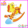 Children、Popular Kids Wooden Toy、Kids Wjy8101のためのHot Sale Wooden Rocking Horse Toyのための2014新しいWooden Rocking Horse Toy
