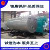Constructeur direct ! ! ! Structure de trois passages et chaudière horizontale de pétrole de type