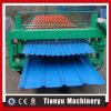 Máquina ondulada da formação de folha da maquinaria da formação de folha do telhado da camada dobro