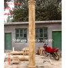 Escultura em pedra mármore de areia dourada de coluna (SY-C004)
