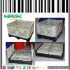 Caixas de pálete plásticas do escaninho dobrável logístico plástico
